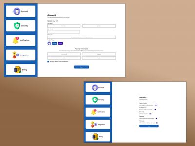 Privacy and Security typography ui design ux