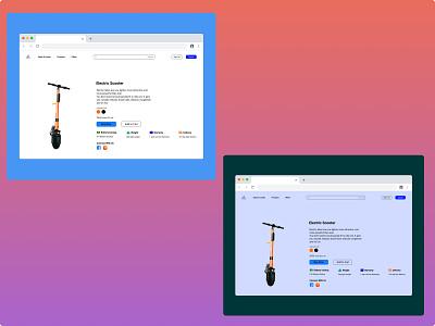 E-Commerce Shop shop e-commerce color branding ux ui design