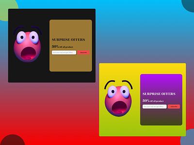 Pop-Up/Overlay overlay pop-up color branding typography ux ui design
