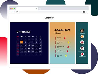 Calendar calender 38 daily ui 38 typography design ux ui