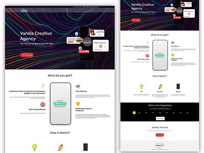 Marketing Agency Website - Responsive