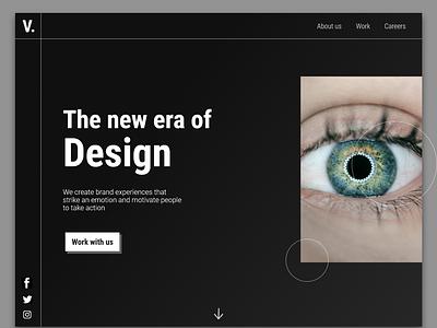 Design Agency Website branding website design ui