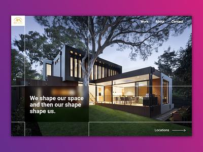 Real Estate Website Design website illustration design ui