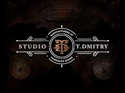 TD Studio logo letters