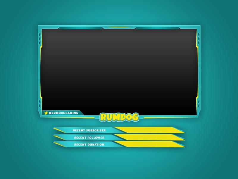 Rumdog Livestreaming Overlay overlay twitch livestream fornite rumdog