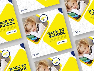 School Social Post Design