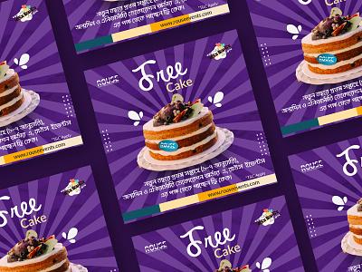 Cake Offer Social Post Design