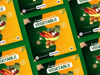 Food Social Post Design