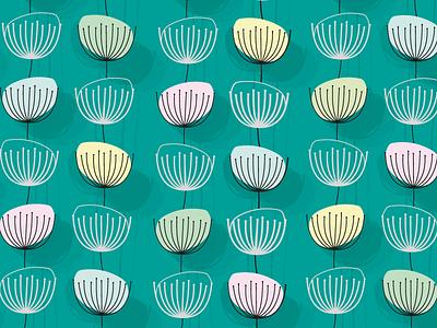 Flower flower nature pattern graphic design design vector illustration