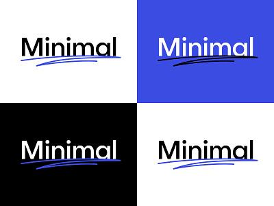 Minimal Studio new logo WIP logodesign logotype identity typography branding logo redesign