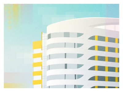 Illustration for Verus  Praedium project city building real estate realestate web vector branding site illustration design