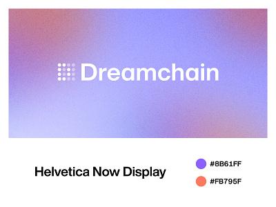 Dreamchain Logo blockchain redesign identity branding identity graphic design logotype logo design branding logo