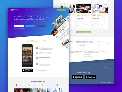 WIP | News360 redesign