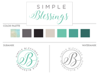 Simple Blessings | Branding