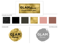 Glam Brows | Mini Branding