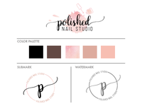 Polished Nail Studio | Mini Branding Kit