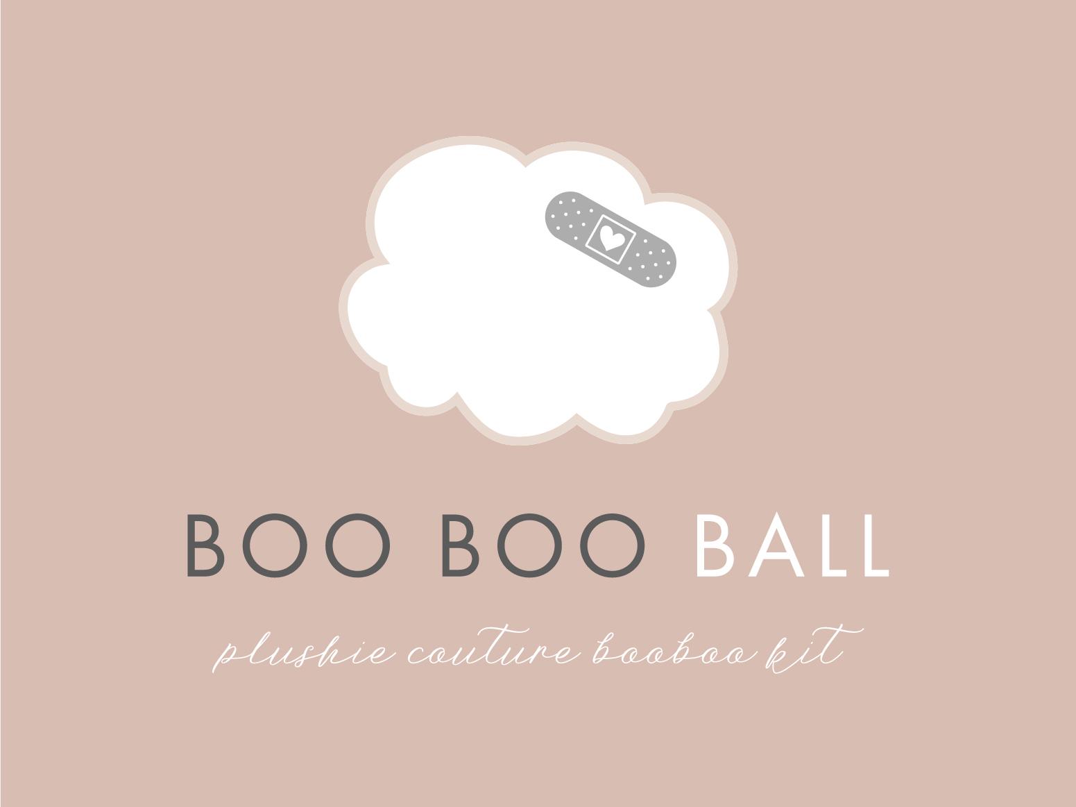 Boo Boo Ball Logo feminine logo design modern logo feminine logo branding logo design