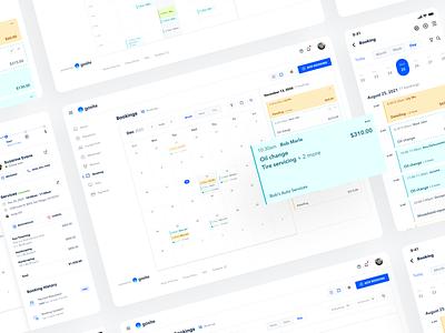 Calendar exploration calendar web app ux ui design