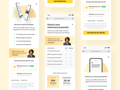 Product design - button variations design options functional design ui ux iteration product