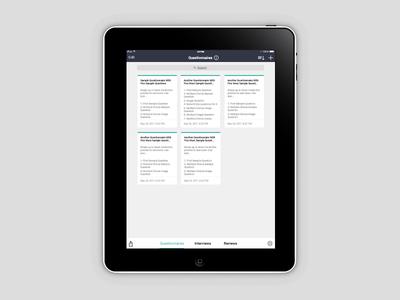 MyInterview App Design Concept