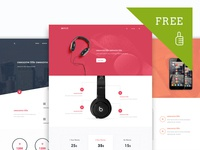 FREE :: xSale - Product Marketing UI Pack