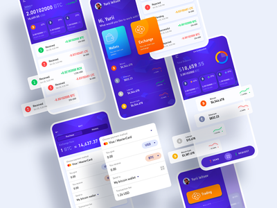 Crypto sborka crypto trading crypto wallet fintech app crypto exchange crypto currency crypto mobile app design mobile app ui user experience simple solution interface clean design services ux