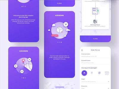 DAV animation illustration mobile app design mobile app dashboard simple solution user experience clean design services ui ux