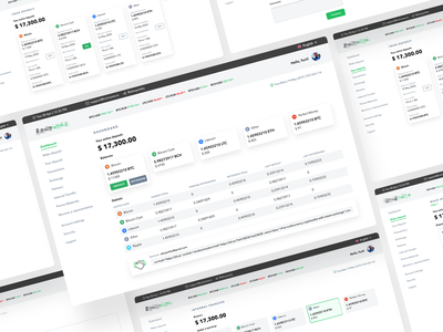 Cryptoar personal area fintech app blockchain cryptocurrency trading platform crypto exchange crypto currency crypto wallet user experience clean design services ui ux