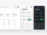 Coinarea adaptive interfaces blockchain trading platform finance app fintech app crypto exchange crypto wallet crypto currency mobile app design dashboard user experience interface ui ux