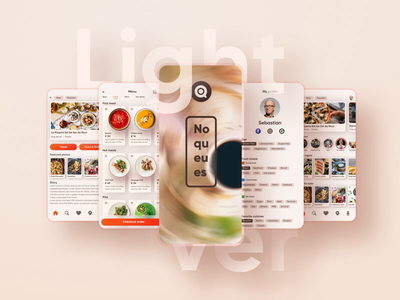NOQU food delivery app delivery app food app microanimation motion design interaction design animation mobile app design mobile app user experience simple solution clean design services ui ux