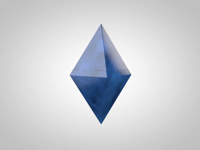 Etherium liquid illustration simple solution octane render crypto ethereum 3d modeling 3d animation cinema 4d 3d art
