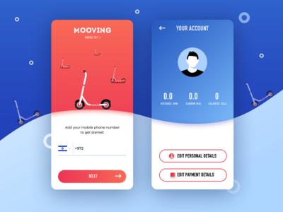 Scooter App Profile