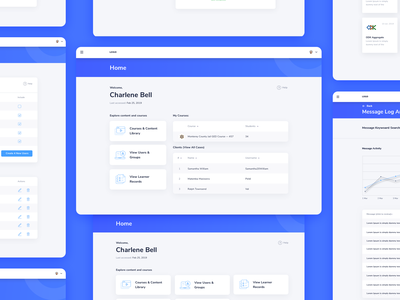 Dashboard Nucleos material design cms crm icons dashboard user experience web design simple solution interface clean design services ui ux