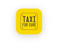 Taxi For Sure App Icon