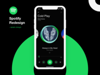Spotify Redesign Concept!