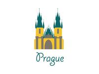 Prague Logo Design