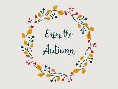Enjoy the Autumn!
