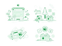 Nedbank Spot Illustrations