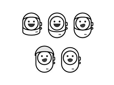 Space Emoji stickers put that pizza in the woods blast off happy helmet astronaut robot bot space emoji fun