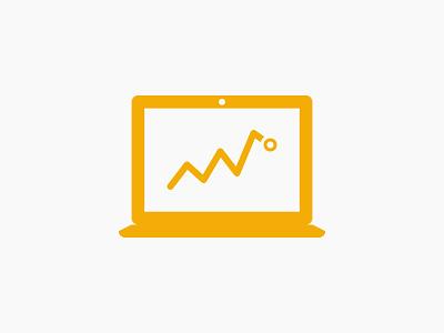 Graphs ui icons clean minimal
