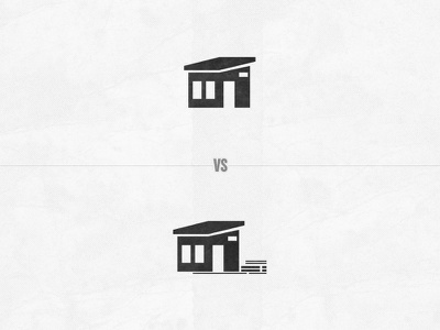 Sheds icon texture branding vector
