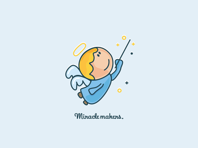 Miracle Makers character miracle angel icon