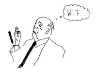 Mies dropping the cigar