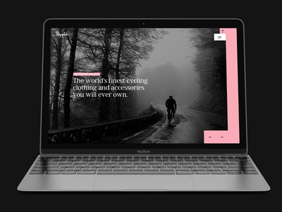 Rapha redesign homepage