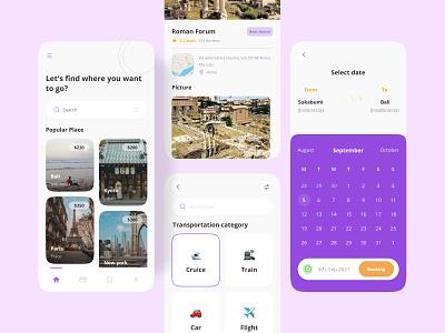 Job Finder Mobile app design app ux ui