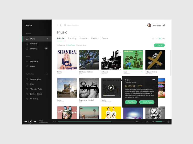 Music App application player music player ui interface library music app music