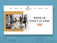 Commonplace Coffee Website