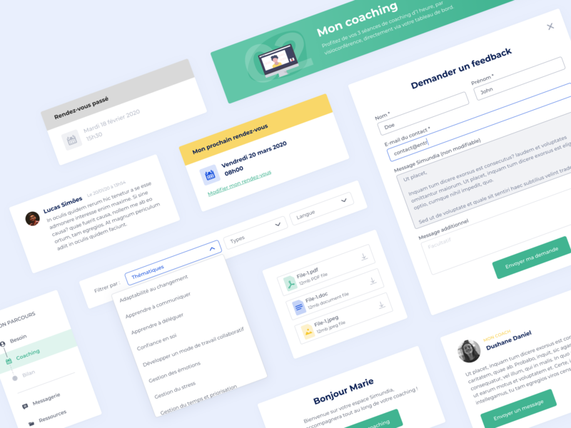 UI components 🎨 app design system select dashboad form user interface design ui interface startup product design component component library product clean