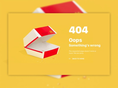 Daily UI Challenge #008 error 404 404 daily ui 008 redesign illustration webdesign branding ux ui interface design daily ui