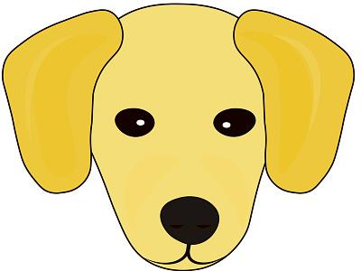 Puppy Image for SmallYellowDog Logo design dog image vector image logo